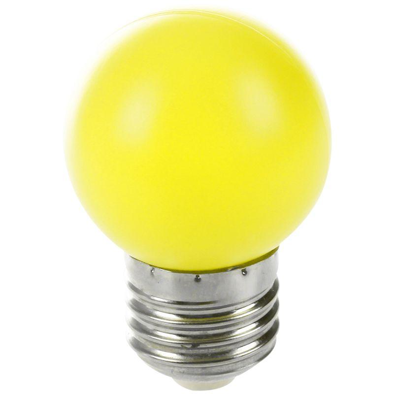 0.5W Leistung E27 LED Licht Kunststoff Lampe Birne 2X H1M1