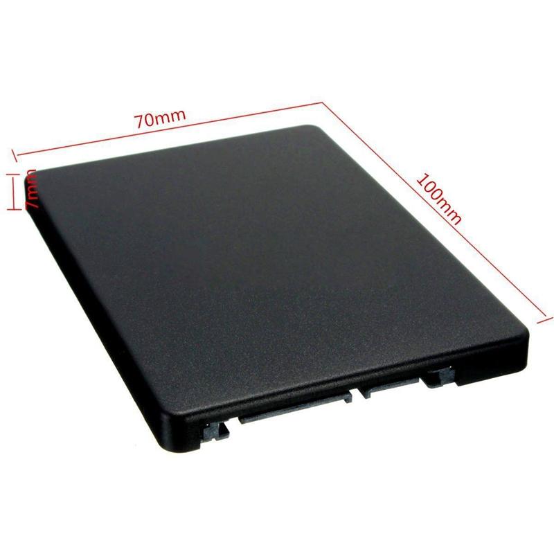 M.2 NGFF (SATA) SSD to 2.5 inch SATA Adapter Card 8mm Thickness Enclosure Y2D3