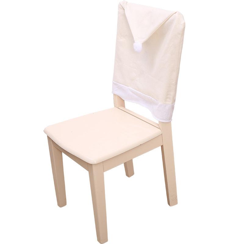 4PC-Silla-De-Ciervo-Sombrero-cubre-silla-de-cena-de-Navidad-Decoracion-Navidad-conjuntos-Reno-J2H4 miniatura 5