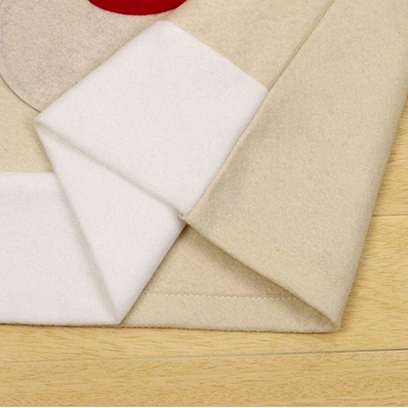 4PC-Silla-De-Ciervo-Sombrero-cubre-silla-de-cena-de-Navidad-Decoracion-Navidad-conjuntos-Reno-J2H4 miniatura 6