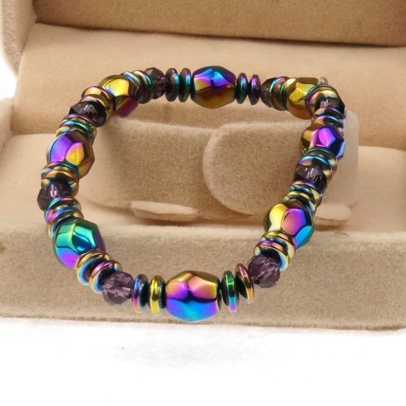 Pulsera-magnetica-multicolor-modo-unisex-abalorios-pierda-hematites-para-terX6R6