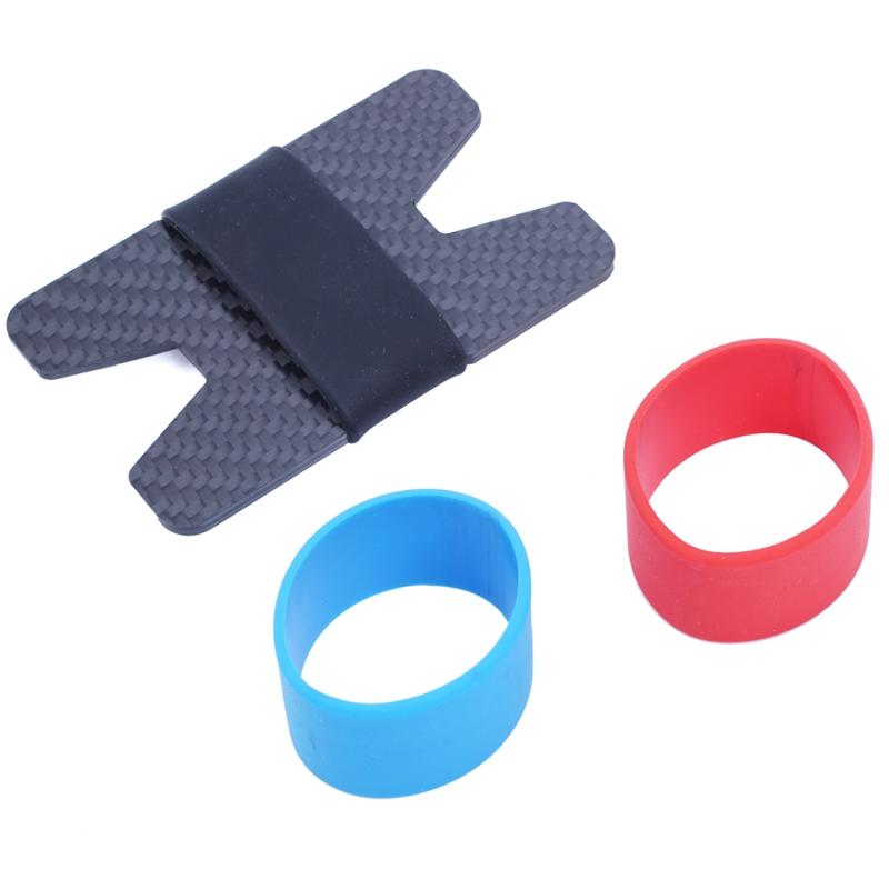 Deft design Carbon Fiber RFID Blocking Money Band Credit Card Holder Slim W G5F3