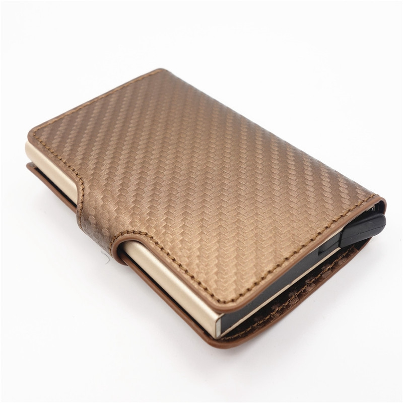 men and women RFID credit card holder id business card case wallet for wome S1L9