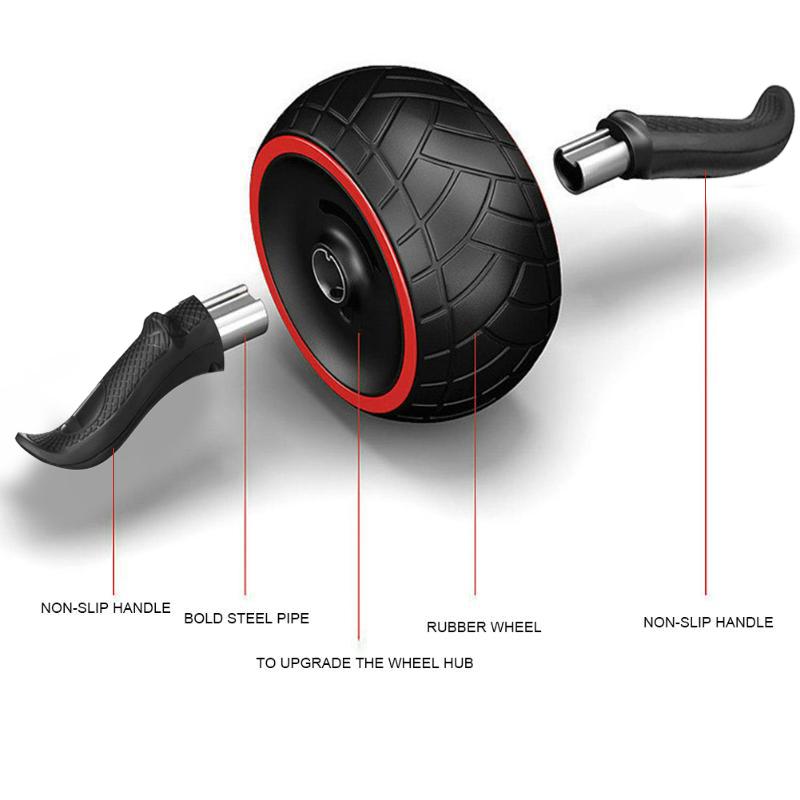 Fitness Geschwindigkeit Training Ab Roller Bauch uebung Rebound Rad Trainie S8X8