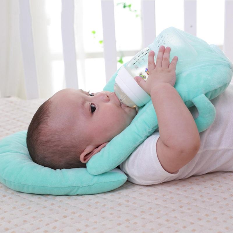 Multifunktions-Still-Baby Still-Kissen geschichtet Waschbare Abdeckung Eins W2G8