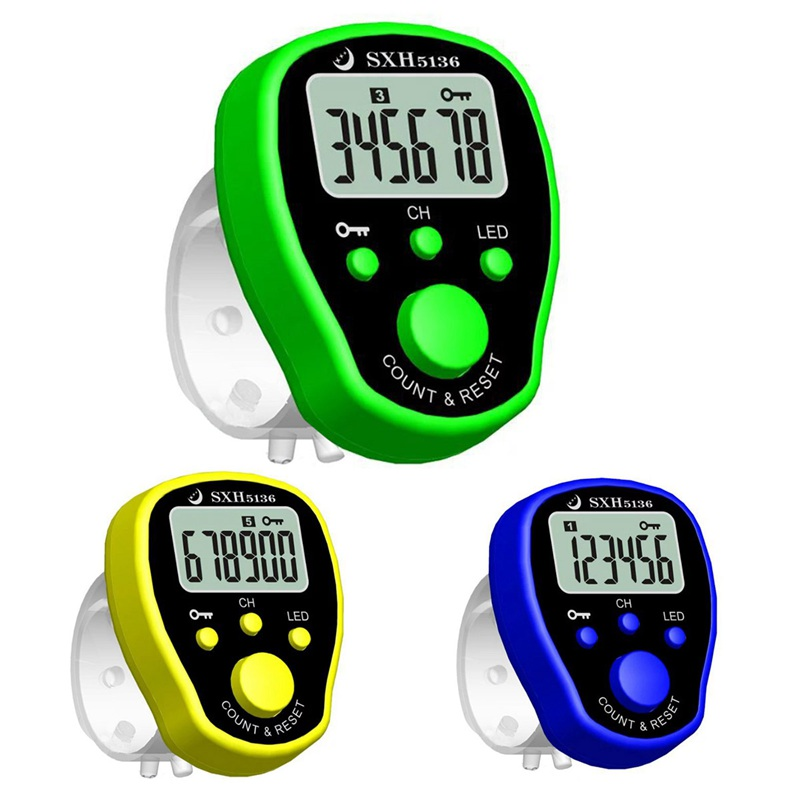 New five-channel chanting counter finger electronic counter chanting multi H9Q7