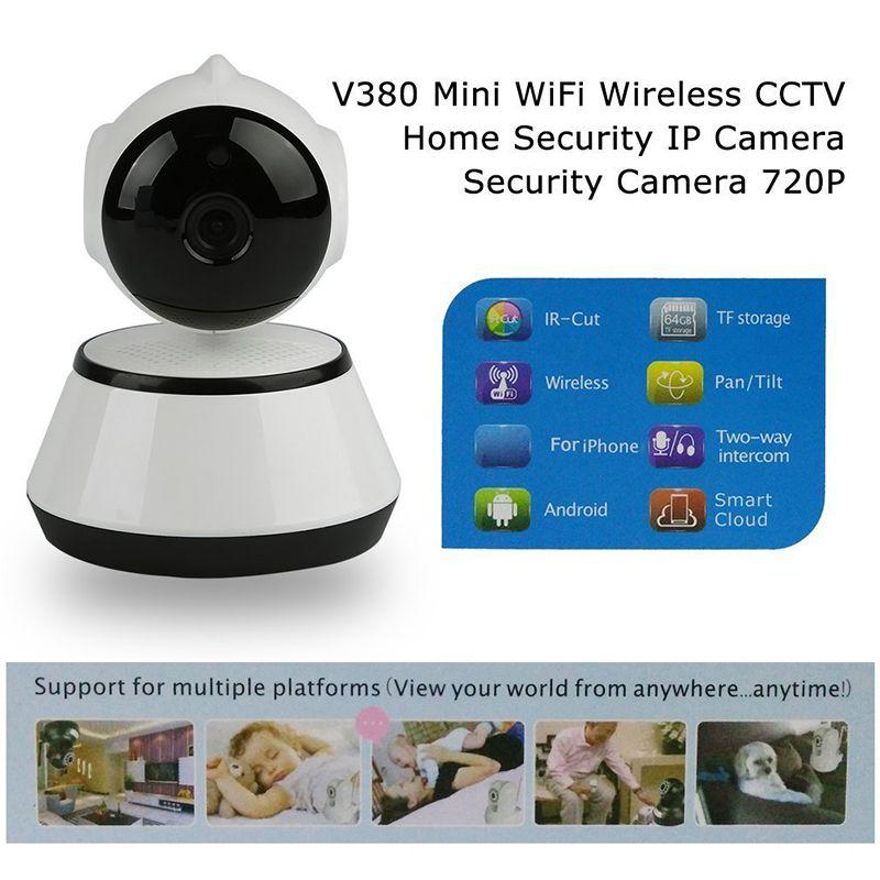 V380 Telefon APP HD 720 P Mini Ip-kamera Wifi Kamera Wireless P2P ueberwach W5X1