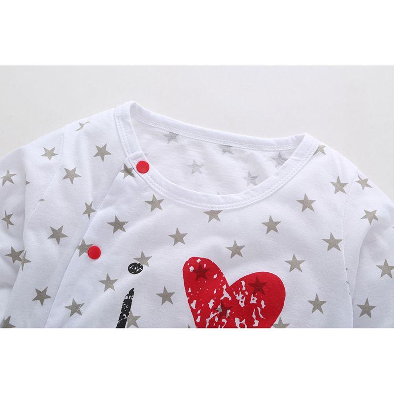 Mikrdoo new style Baby Rompers boy /& girl Cotton Long Sleeve Newborn clothe J2X6