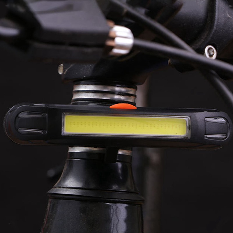 Luces traseras de la bicicleta Tija de sillin LED Luces de seguridad lucT2V1 1X