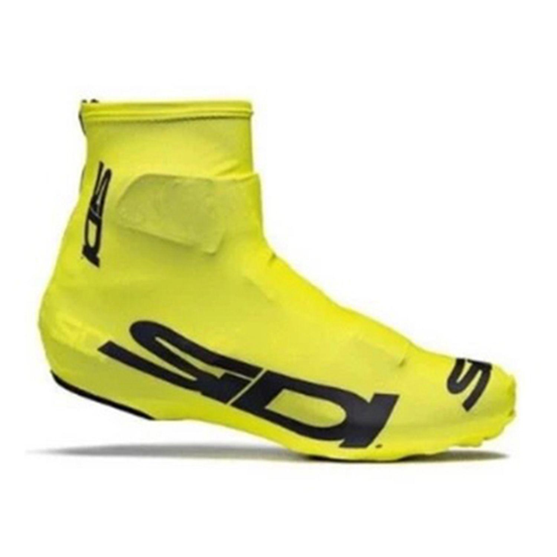 Велосипедная резистентная велосипедная обувь мотоцикл MTB велосипед ShoeCover спортивных аксессуаров езда про дорожные гонки S желтый