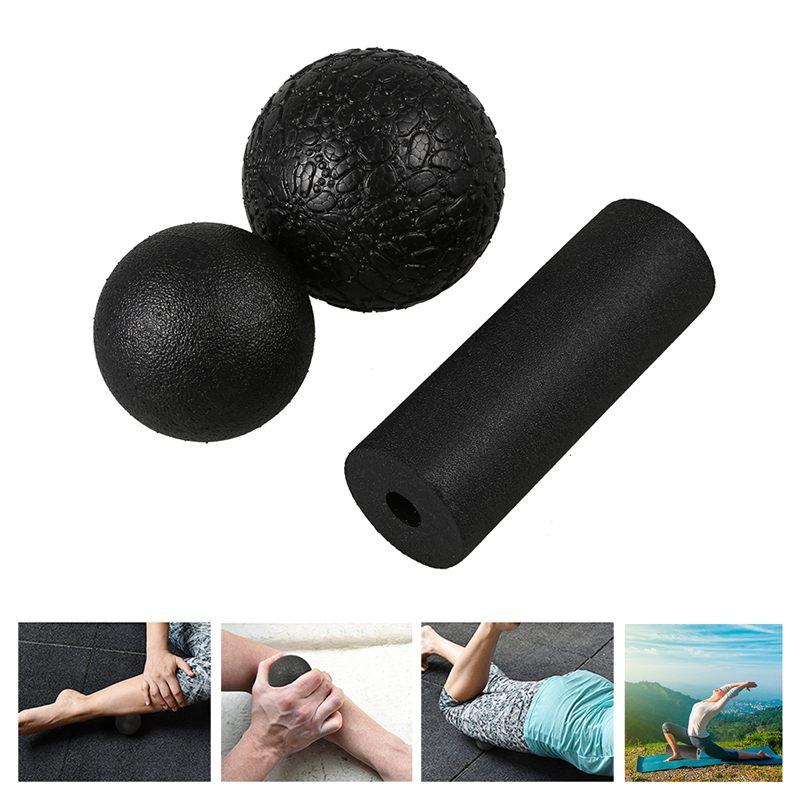 Yoga massage set-Produkte fuer die Faszien in verschiedenen 1 Lacrosse Ball S5O4