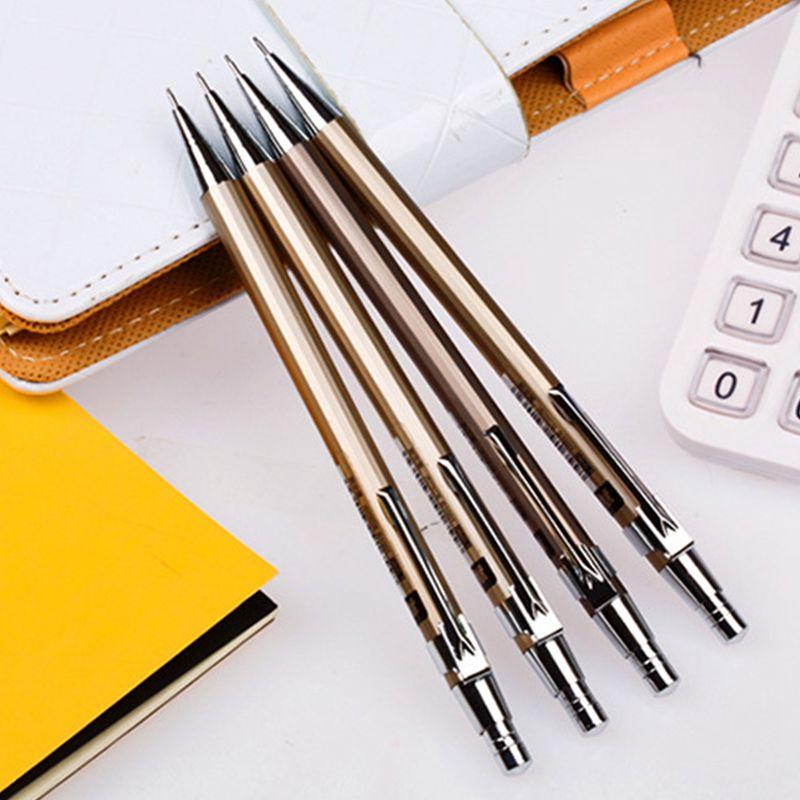 Metall-Druckbleistift Automatische Stifte Schreibwaren fuer Schreiben u V9S1 2X