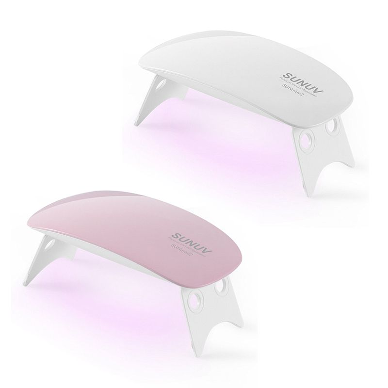 2X(SUNUV SUNmini 6W LED UV Seche-ongles Lampe de clou Pour Manucure Machine  B6)