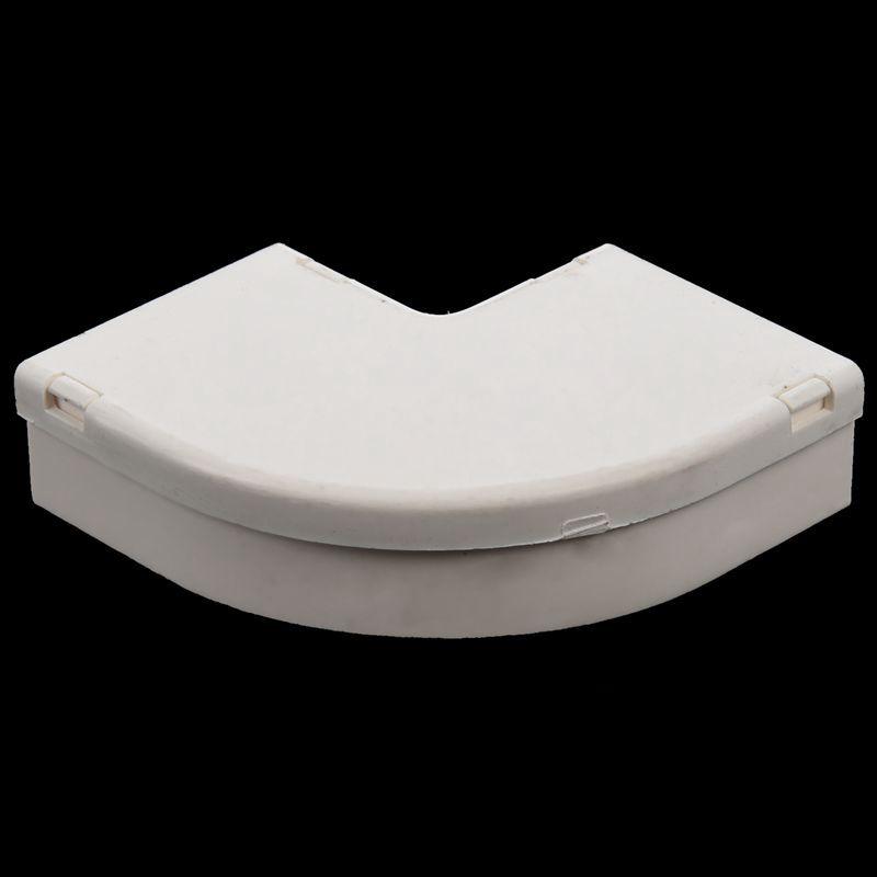 39 mm x 19 mm Moeglichkeiten PVC Kabelkanal flach Winkel ...
