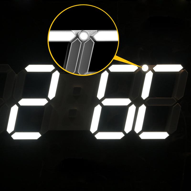 Large-Modern-Design-Digital-Led-Skeleton-Wall-Clock-Timer-24-12-3D-F9B6 thumbnail 5