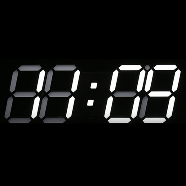 Large-Modern-Design-Digital-Led-Skeleton-Wall-Clock-Timer-24-12-3D-F9B6 thumbnail 6