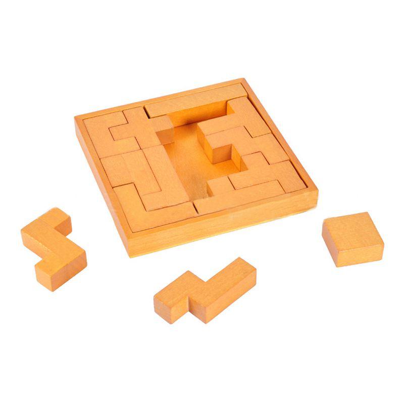 3D-Puzzles Puzzles mehrfarbig Puzzles 10stil Block Puzzle Holz Puzzles
