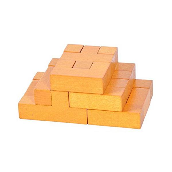 Block Puzzle Puzzles Holz Puzzles 3D-Puzzles mehrfarbig Puzzles 10stil
