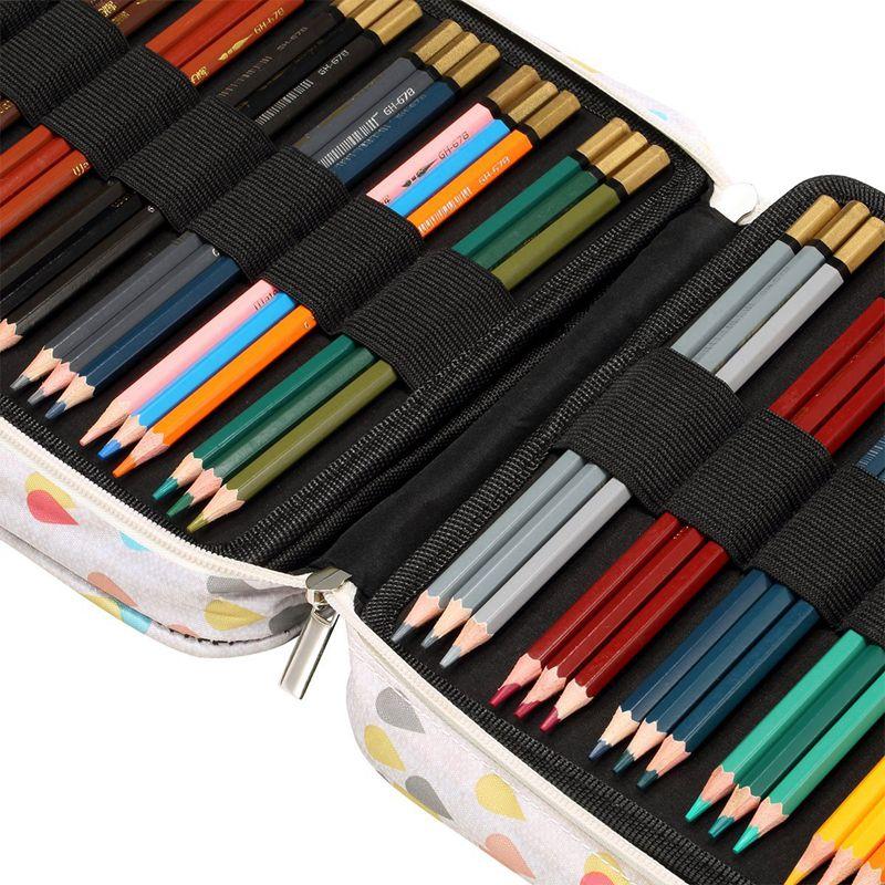 Bolsa-150-ranuras-Lapices-colores-Lapiz-universal-Estuche-pluma-Papeleria-esS9S3