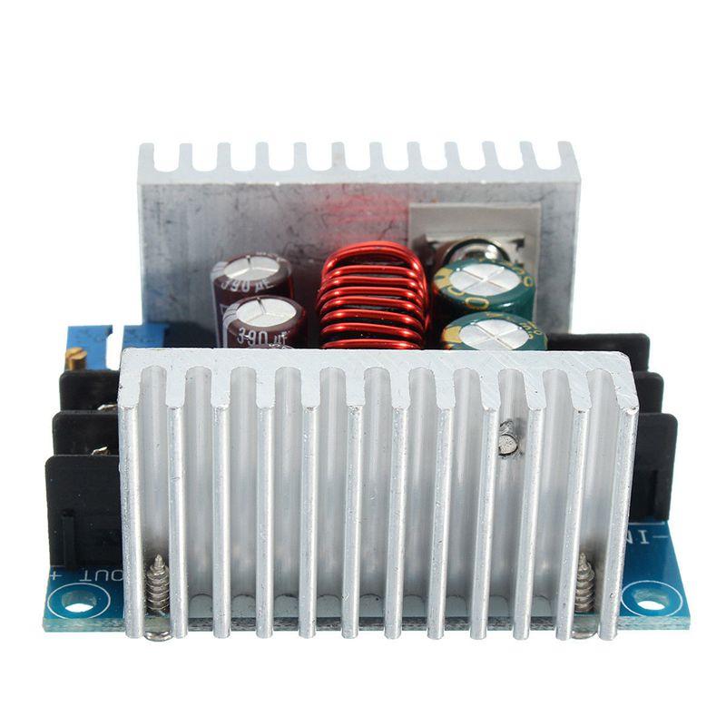 Spannung des einstellbaren Tiefsetzstellers mit konstantem Strom des Tiefse S1J4