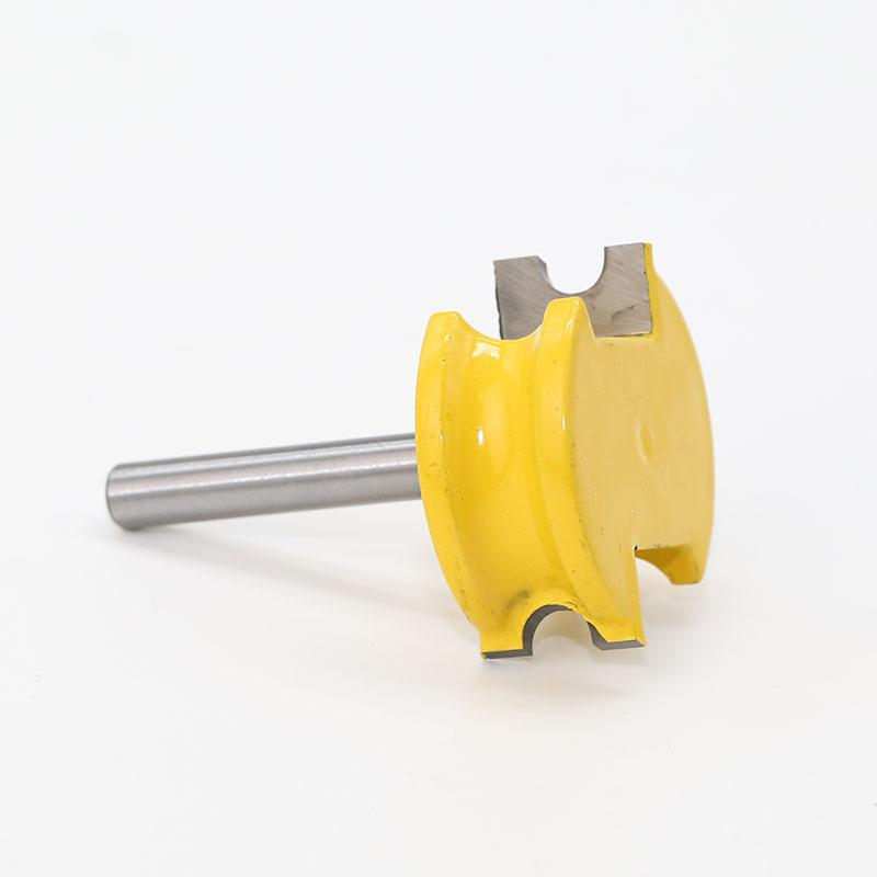 2-pcs-1-4-pouces-Shank-1-4-pouces-Diametre-Flute-et-Bead-Router-Bit-Set-bois