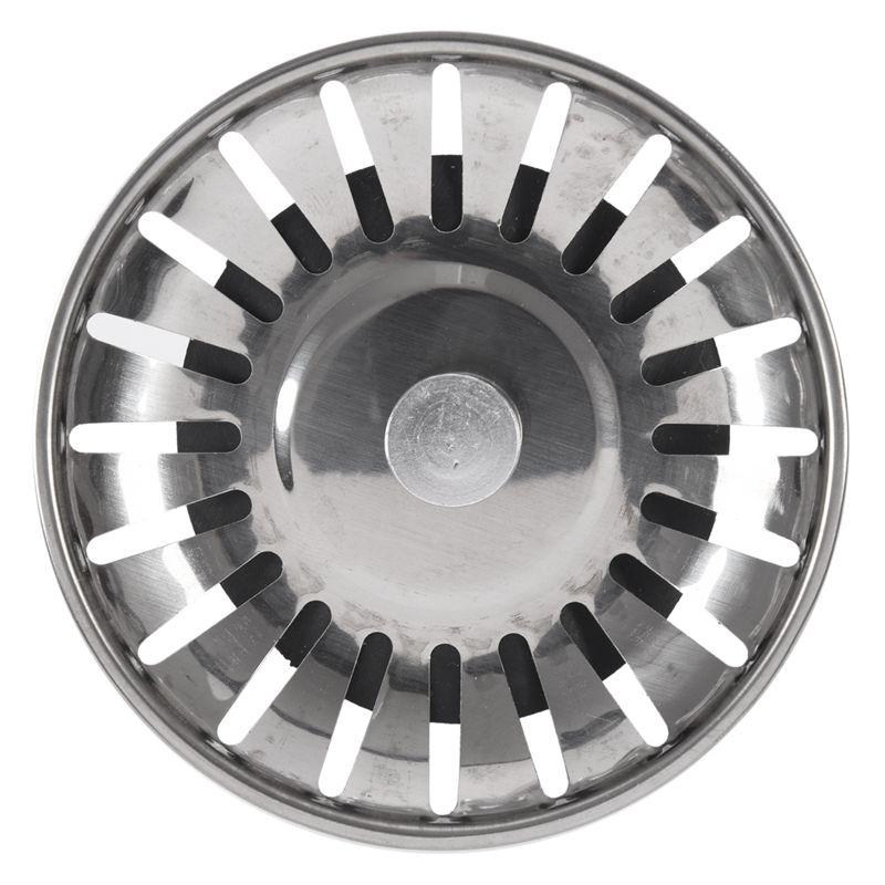 Kitchen Sink Strainer Drainer Draining Waste Plug X4A6 2X