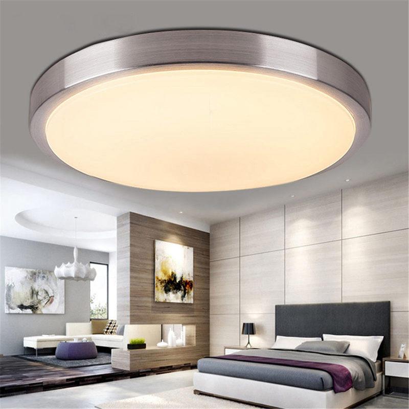4x led decken schlafzimmer wohnzimmer oberflaechen berg lampe warmes licht w9a4 ebay. Black Bedroom Furniture Sets. Home Design Ideas