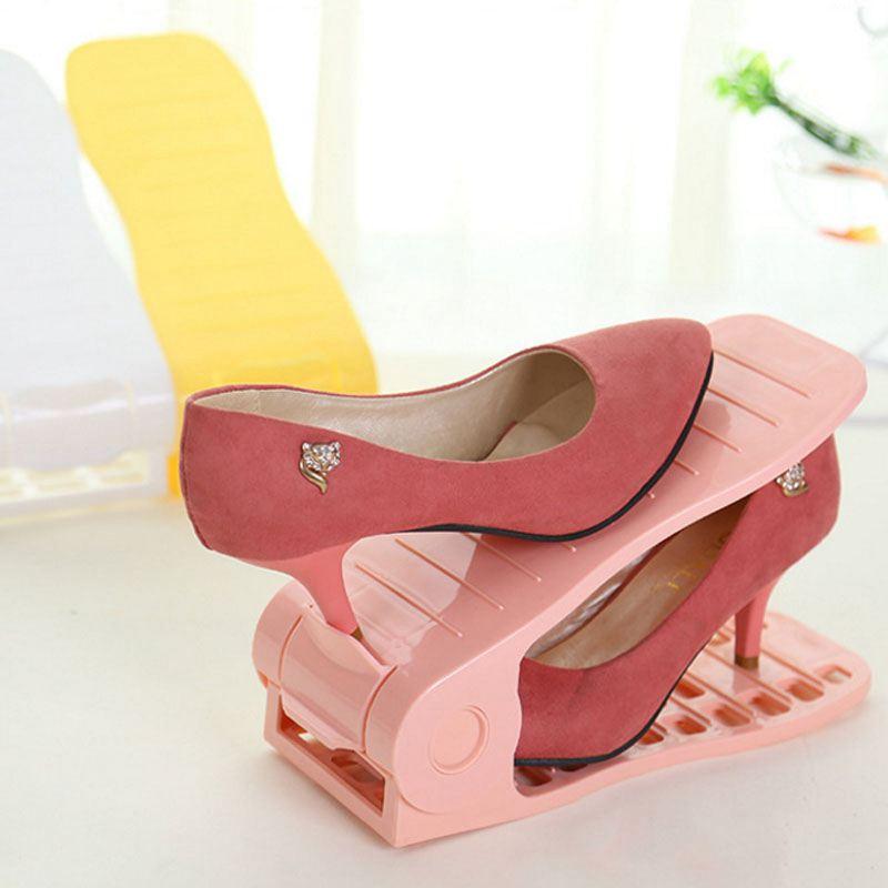 Shoe Racks Adjustable Modern Double Cleaning Storage Shoes Rack ...