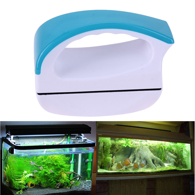 Flottant Brosse Magnetique Aquarium Fish Tank Verre Algues Grattoir Cleaner V8k1 Aquariophilie, Bassins, Mares