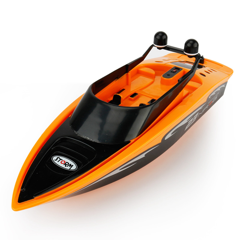 4 Type 2.4GHZ RC Boat Radio Remote Control High Speed Boat RC Racing Boat E O2W4 192701781262