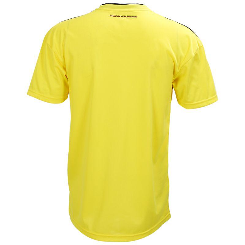 Ropaportiva-Copa-Mundial-Camiseta-futbol-Colombia-para-pareja-Camisa-manga-cM3R7 miniatura 3