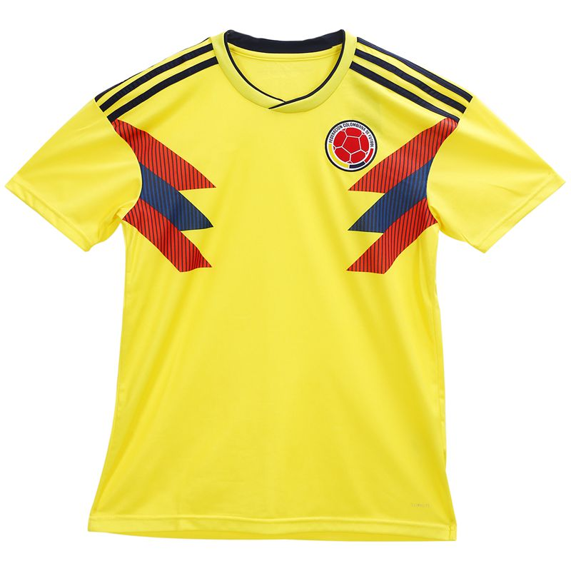 Ropaportiva-Copa-Mundial-Camiseta-futbol-Colombia-para-pareja-Camisa-manga-cM3R7 miniatura 4