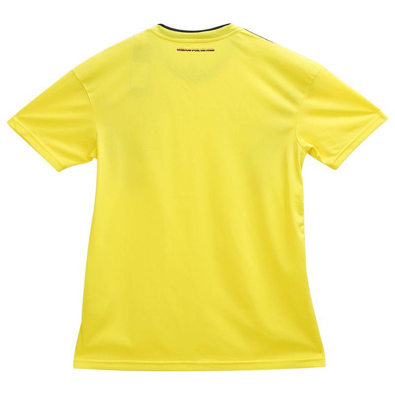 Ropaportiva-Copa-Mundial-Camiseta-futbol-Colombia-para-pareja-Camisa-manga-cM3R7 miniatura 5