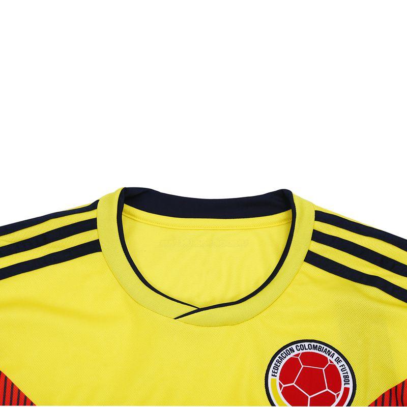 Ropaportiva-Copa-Mundial-Camiseta-futbol-Colombia-para-pareja-Camisa-manga-cM3R7 miniatura 6