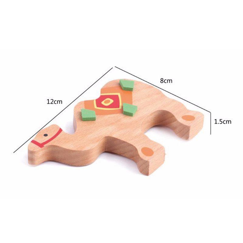 Babyspielzeug Bildungs Kamel Ausgleich Bloecke Holzspielzeug Holz Balance S Y2A7 Basteln & Kreativität