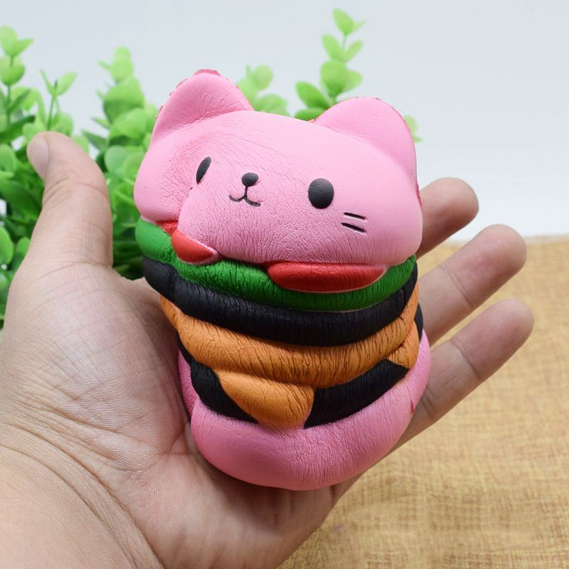 Mignonne-Kawaii-Doux-Squishy-Geant-Dessin-anime-Chat-Hamburger-Parfume-Mont-D8X3