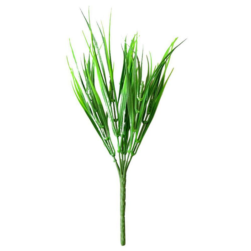 Artificial Outdoor Plants Fake Plastic Greenery grass ...