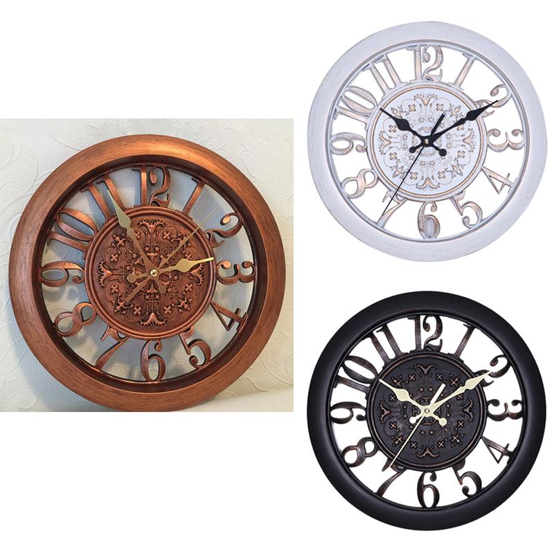 5X(Reloj de pared Saat Reloj Reloj de Pared Pared Saati Vintage Reloj de paX7F1)