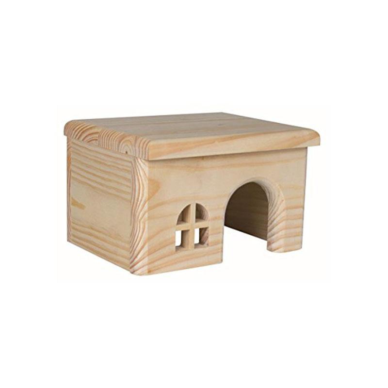 8X (casa in legno per criceti W2C4)