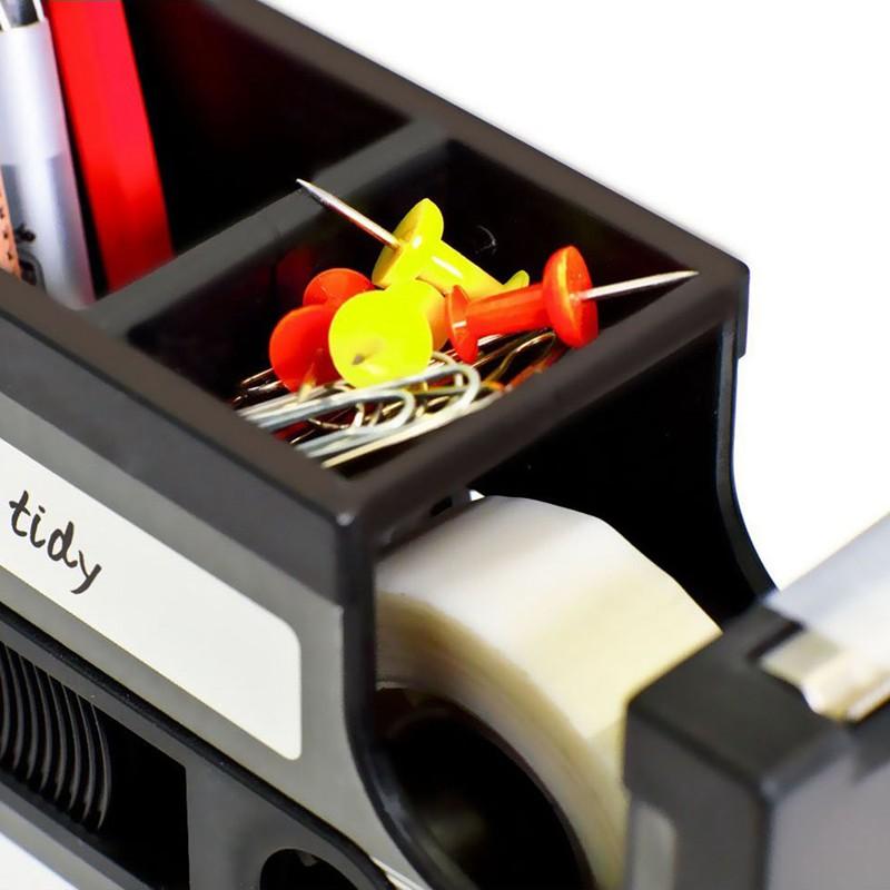Kassette Spender Stifthalter Vase Bleistift Topf Schreibwaren Schreibtisch  G1E3
