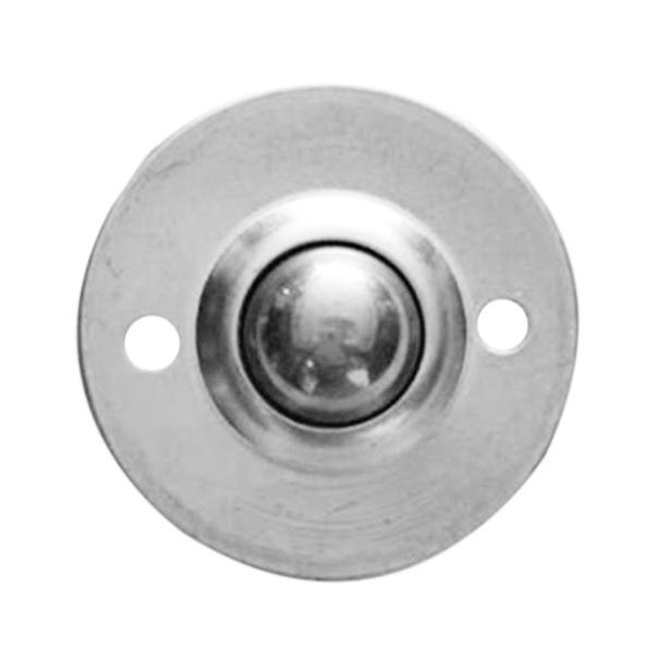 6pcs CY-16B 5/8inch Bearing Steel Roller Ball Flange Conveyor Transfer Unit Q7P7