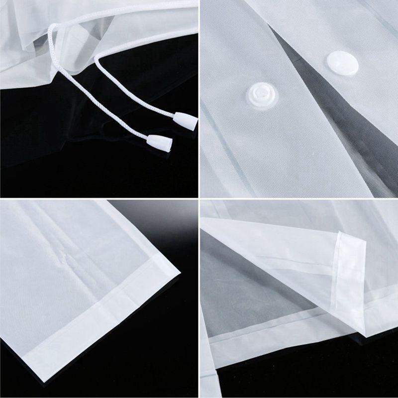 Frauen Regenkleidung Maenner Regenmantel Transparent Regenmantel NICHT Einw K8C1 Notfallausrüstung