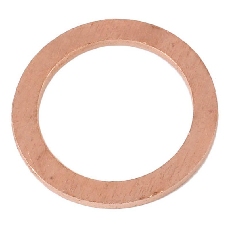 3X 10mm x 14mm x 1.5mm Kupfer Crush Unterlegscheibe Flachring Dichtung Zube O4M4