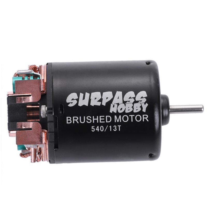 3X(SURPASS HOBBY 540 13T Brushed Motor with 60A ESC Combo for 1 10 Traxxas V2I5)