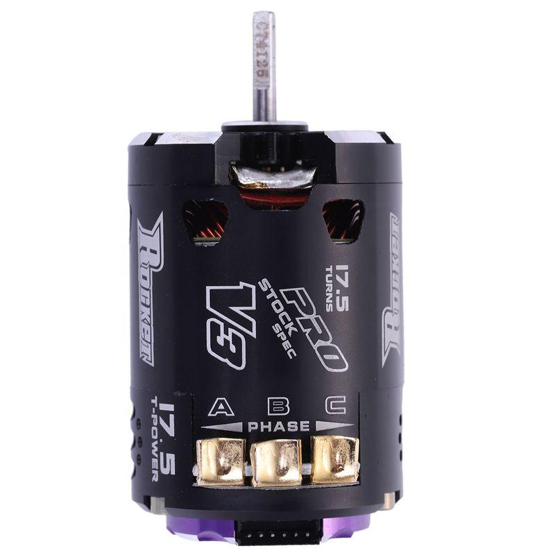 Details about SURPASS HOBBY V3 540 17 5T Sensored SPEC RC Brushless Motor  for 1/10 RC Rac T2Q2