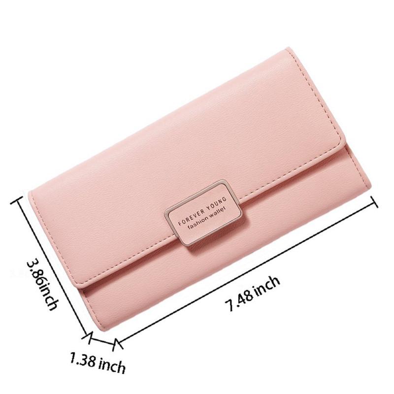 Womens Walllet RFID Blocking Bifold Multi Card Case Leather Wallet Z6P4