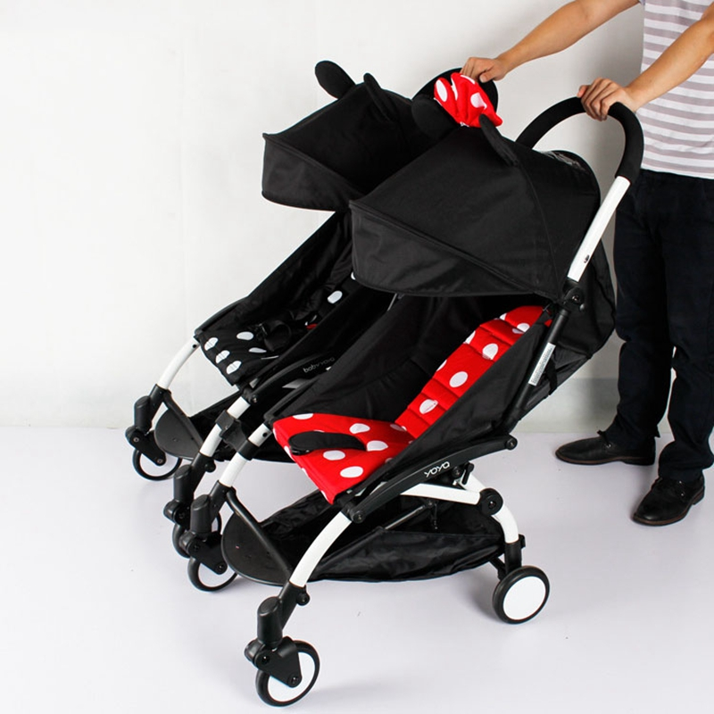 3pcs Coupler Bush Insert Into The Strollers For Babyzen