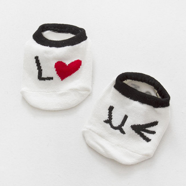 KACAKID Baby Girls Boys Cute Cartoon Socks Newborn Infant Cotton Socks whit Q1K7