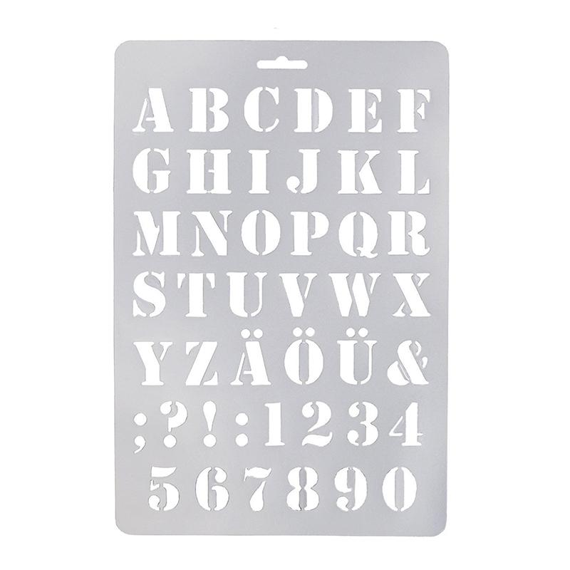 Buchstaben Malerei Papier Handw P1Y7 und Zahlenschablone Buchstabe Schablonen