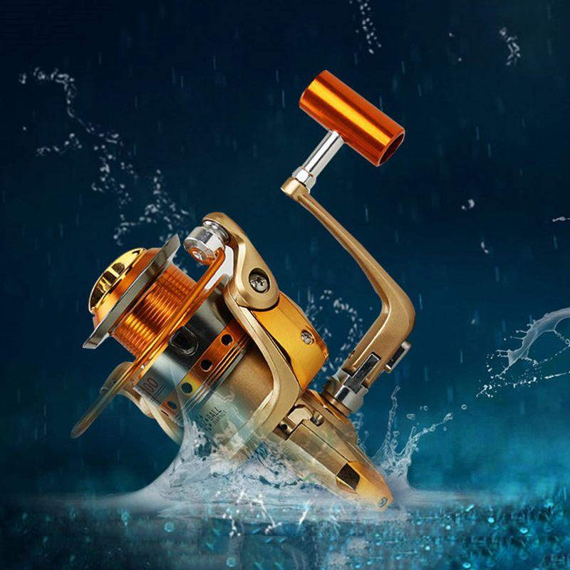 Yumoshi 12BB Fly Salzwasser Spinnrad Ozean Meer Boot Eis Angelgeraet Rolle  K5C6